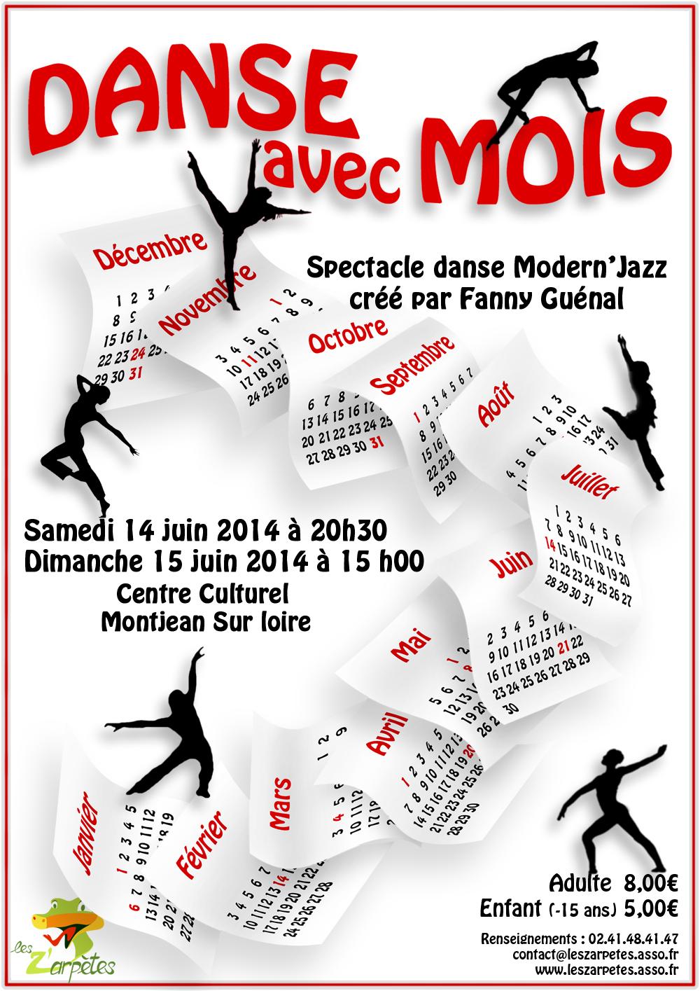Affiche Danse avec MOIS