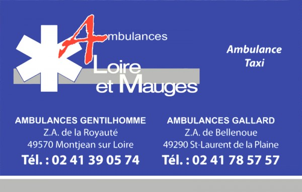 Ambulances Loire et Mauges - Transport ambulance Taxi