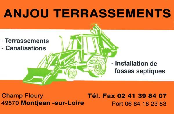 Anjou Terrassement - Entreprise terrassement