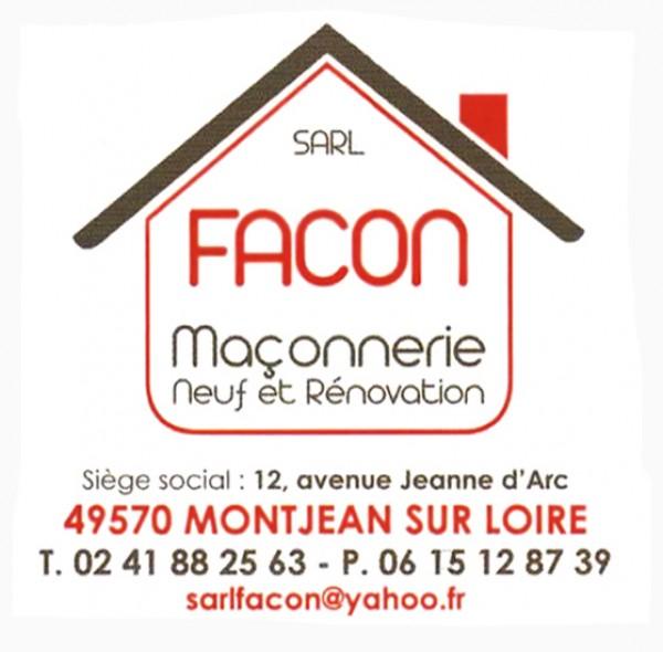 SARL Facon - Maçonnerie neuf et rénovation