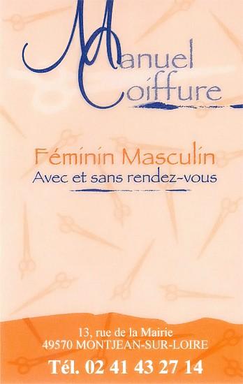 Manuel Coiffure - Artisan coiffeur