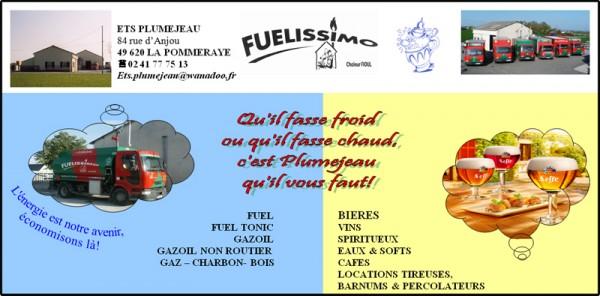 Plumejeau Ets - Fuel - Bois de chauffage - Grossistes Boissons