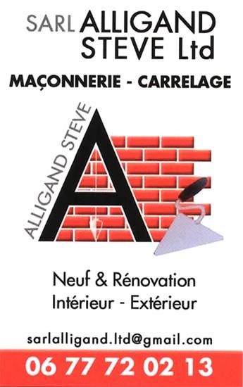 SARL Alligand - Artisan Maçon - Carrelage