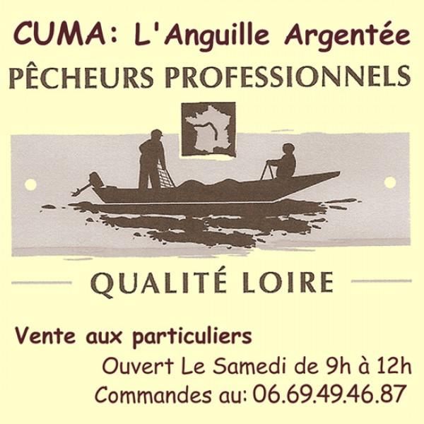 CUMA L'Anguille Argenté - Pêcheur de Loire - Vente