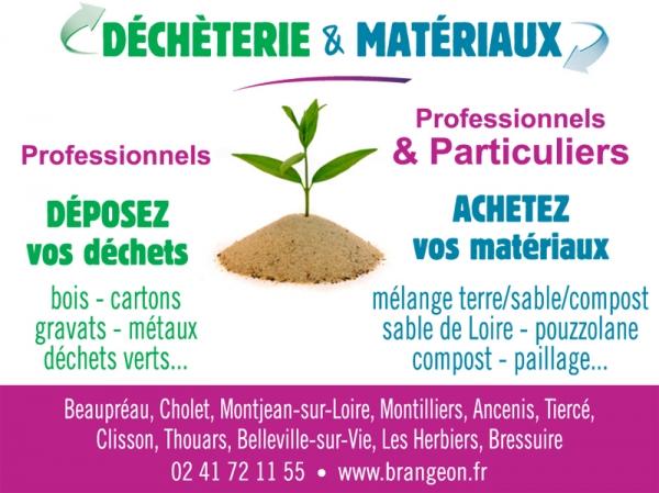 Groupe Brangeon - Déchetteries et Matériaux