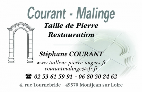 SARL Courant Malinge - Taille de Pierre Restauration