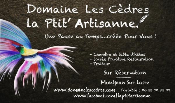 Domaine Les Cèdres - La Ptit'Artisanne - Chambres d'hôtes