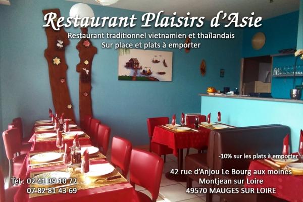 Restauration traditionnelle vietnamienne et thaïlandaise