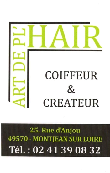 Art de PL'HAIR - Artisan coiffeur