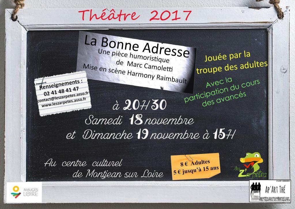 (2)2017 La Bonne Adresse