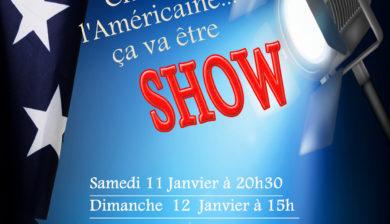 Affiche Show à l'américaine